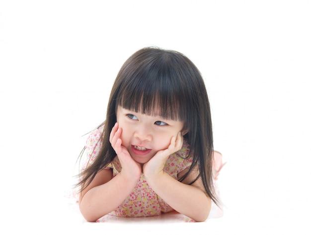 Portrait of a lovely asian girl