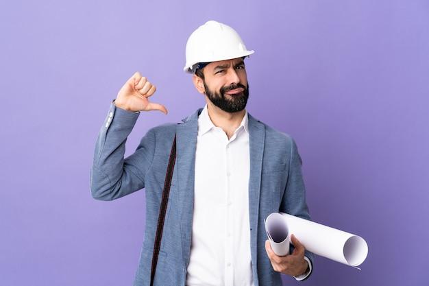 肖像画の男性建築家