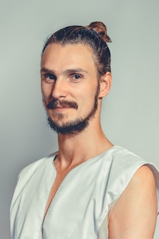 Portrait of masseur in spa salon