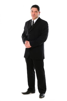 Ritratto di uomo d'affari di mezza età