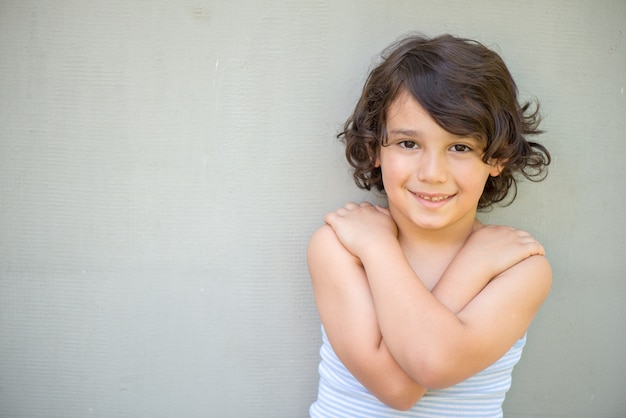 Portrait of model boy