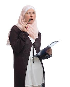 Portrait muslim woman