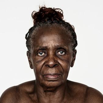 コンゴの女性の肖像画