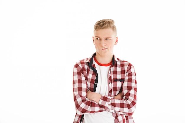 Портрет разочарованного школьника