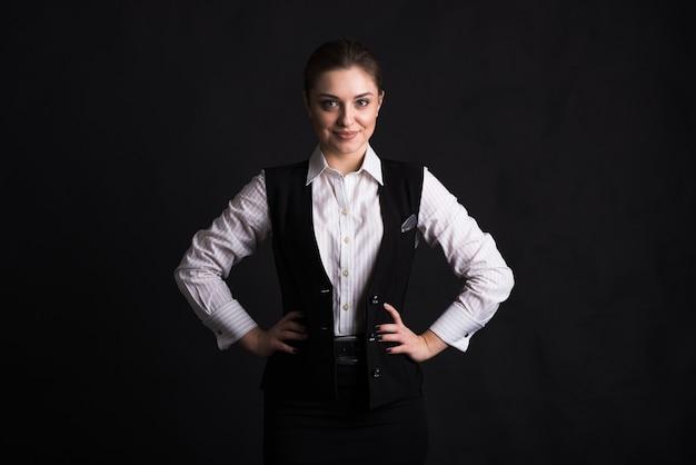 Портрет женщины бизнес-леди