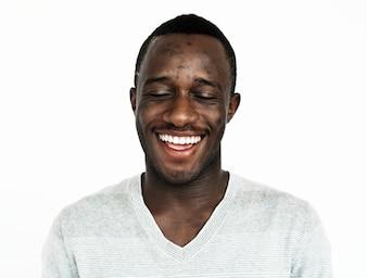 Portrait of a Ghanaian man