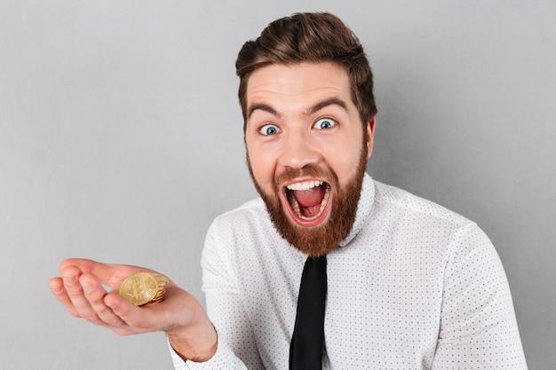 Портрет бизнесмена счастливый