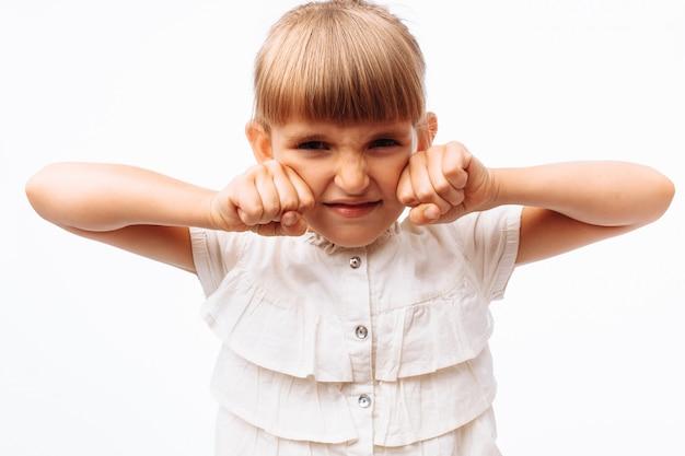 Портрет маленькой девочки