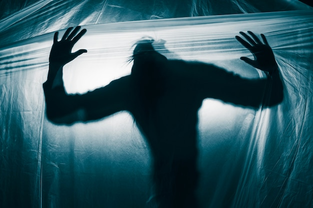 Портрет человека с психическими расстройствами Бесплатные Фотографии