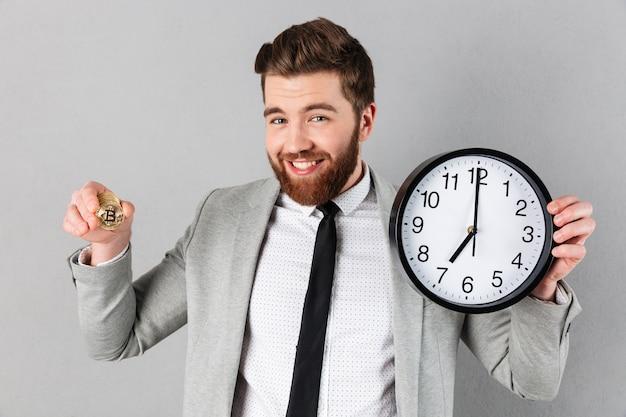 Портрет улыбающегося бизнесмена