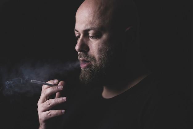 喫煙者の肖像画