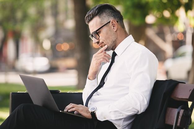 Портрет успешного молодого бизнесмена