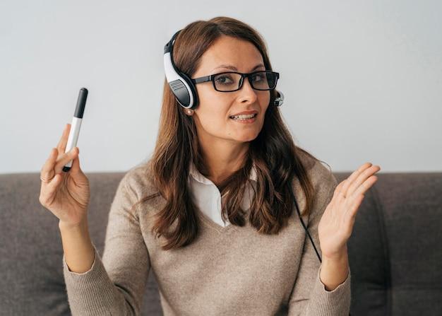 Портрет учителя онлайн-класса