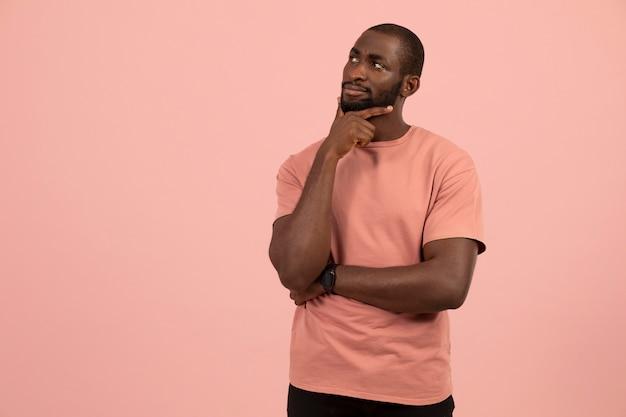 Портрет афро-американской модели