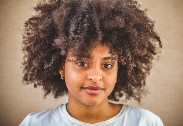 Портрет африканской девушки.