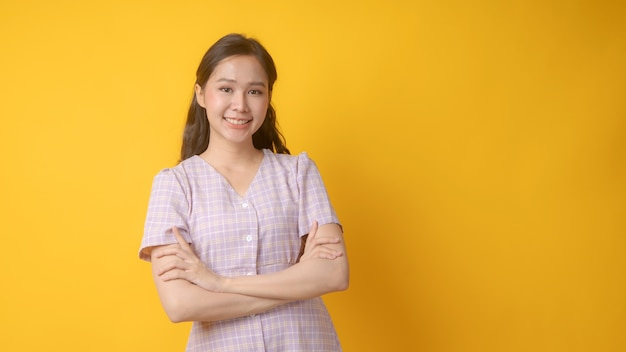 Портрет азиатской красивой женщины