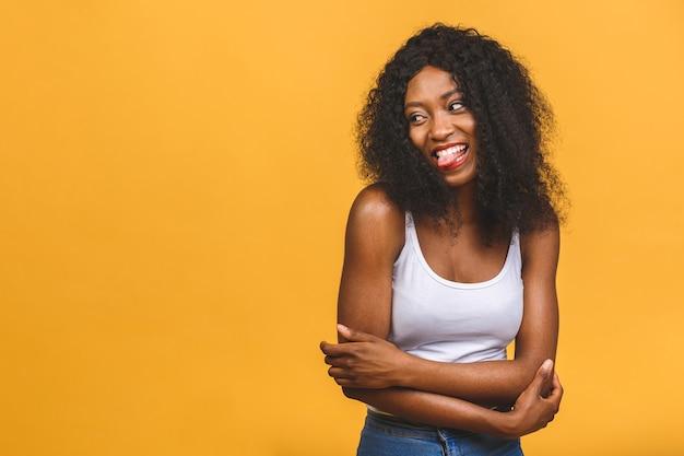 Портрет красивой афро-американской женщины