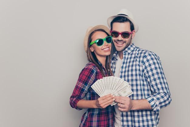 Портрет красивой молодой пары