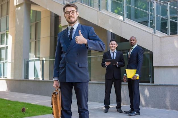 ビジネスチームの肖像画