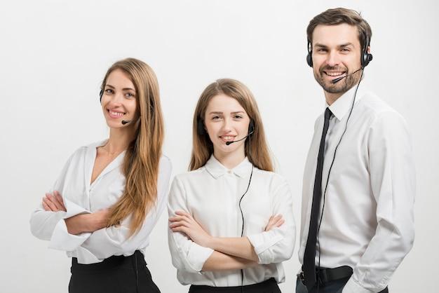 Портрет агентов колл-центра