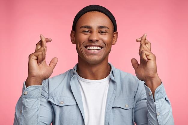 表現力豊かな若い男の肖像