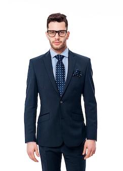 Портрет красивого бизнесмена