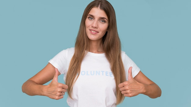 人道ボランティアの肖像