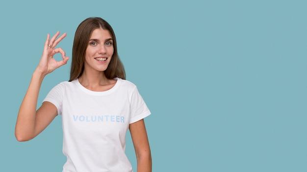 인도주의 자원 봉사자의 초상