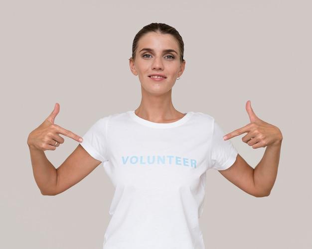 Портрет гуманитарного волонтера