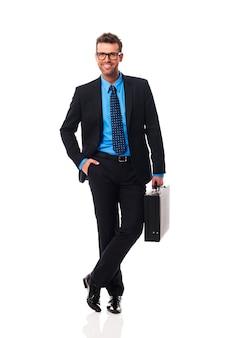 Портрет умного делового человека