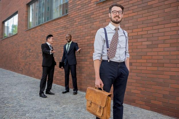多民族のビジネスチームの肖像画