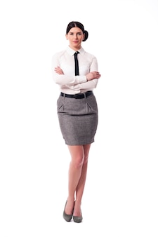 Портрет красивой деловой женщины