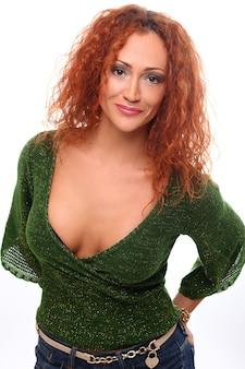 빨간 머리 여자의 초상화