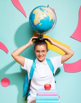 世界中の女子高生の肖像画