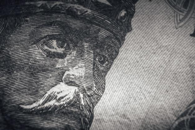 Портрет штефана чел маре стефана великого аверс банкноты в молдавских леях