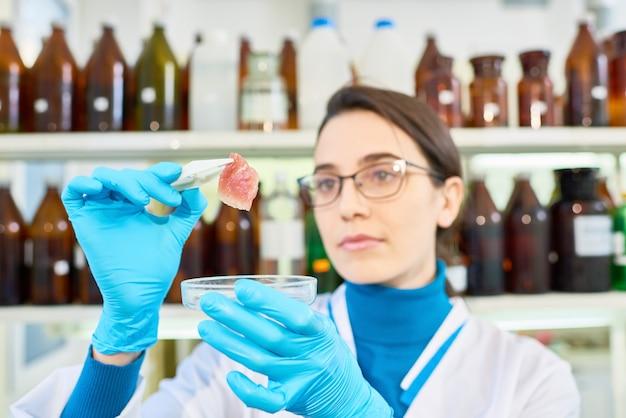 才能のある若い科学者の肖像