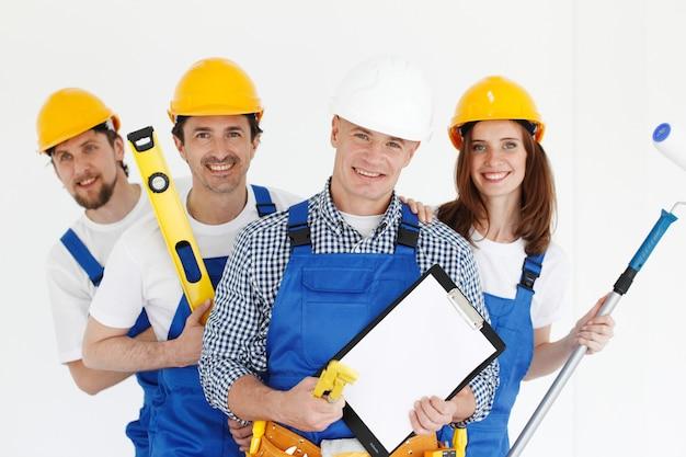 노동자 팀의 초상화