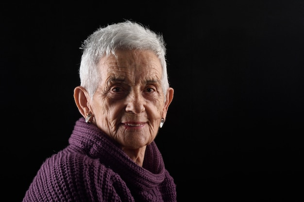 Portrait of a senior woman