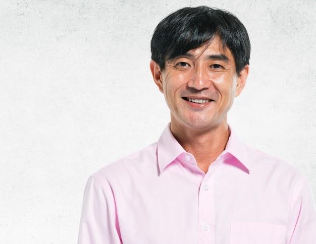 Portrait of a smiling man