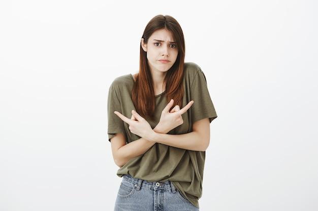 Portrait of a woman in a dark green tshirt