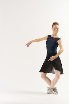 Portrait of young beautiful ballerina