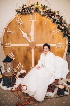 Портрет молодой невесты
