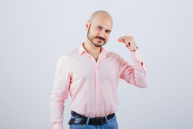 Portrait of a young confident man