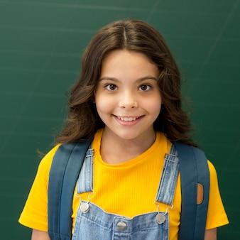 肖像画の若い女の子