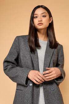 Портрет молодой японки