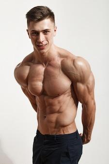 Portrait of young sportsman Premium Photo