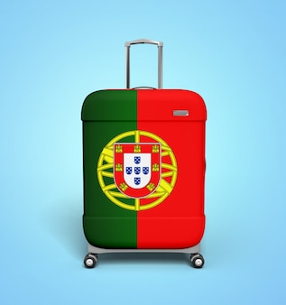 Portugal suitcase - vacation