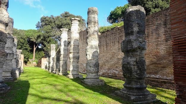 Portus was a large artificial harbour of ancient rome.