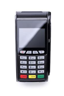 銀行カードを読み取るためのpos端末デバイス