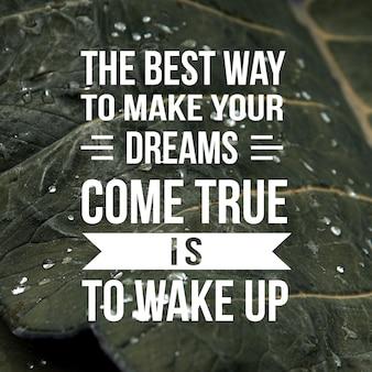 Позитивная цитата для вдохновения и мотивации в жизни. усильте свой ум для великого мышления.